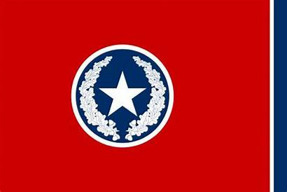 Flag Tennessee Chattanooga Svg 1923 Wikipedia Waving