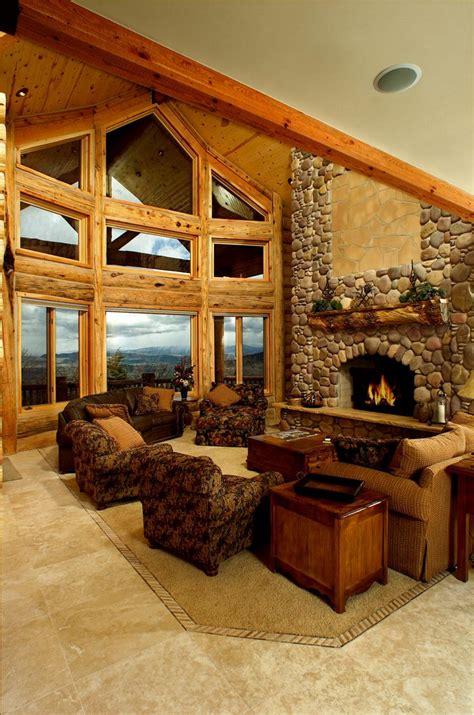 homes interior photos log home interiors yellowstone log homes
