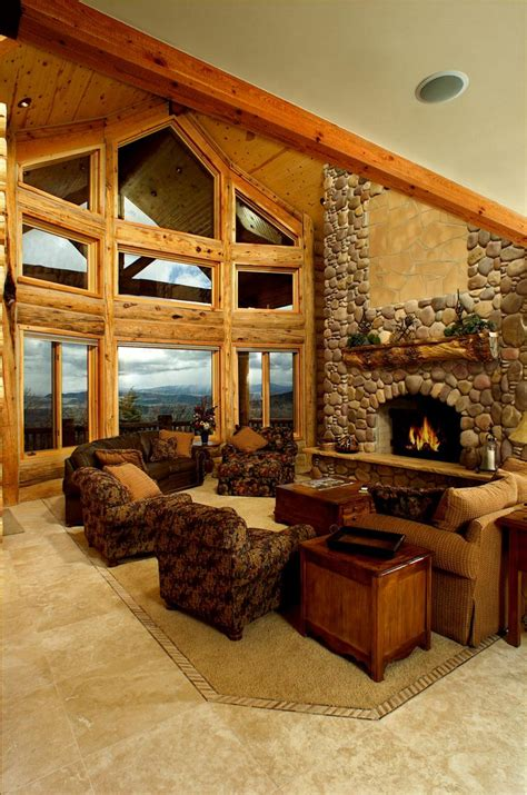 Log Home Interior Gallery | Yellowstone Log Homes