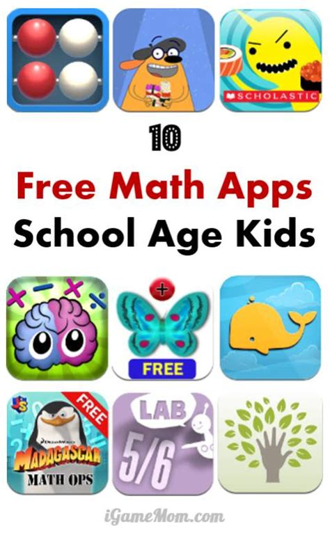 10 free math apps for elementary school 527 | free math apps for school age kids learn practice