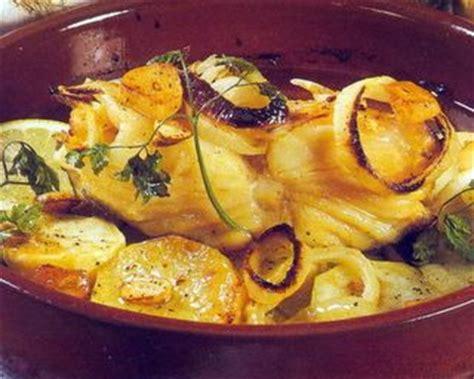 cuisine portugaise morue au four recette morue les recettes de cuisine en