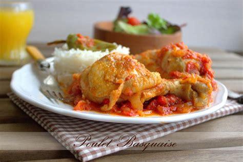 poulet basquaise recette facile amour de cuisine