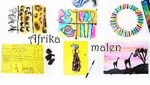 Malen Mit Kindern : afrika malen afrikanische kunst f r kinder video mama kreativ ~ Markanthonyermac.com Haus und Dekorationen