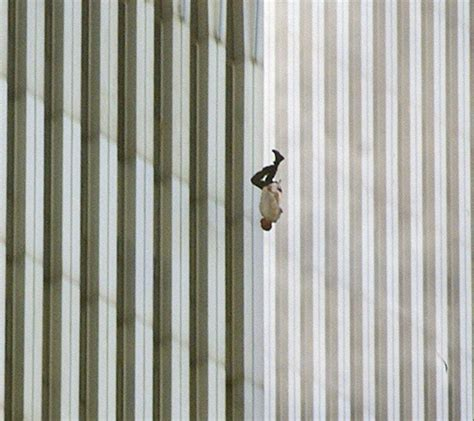 Man Falling From The World Trade Center On 911 Credit