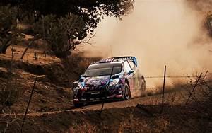 ford fiesta ken block wrc rally dust car race sports HD