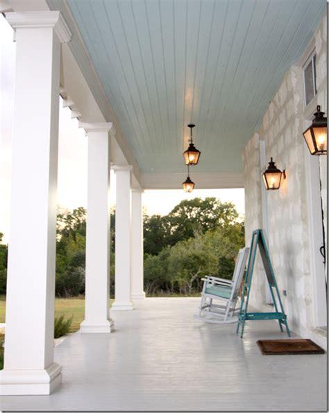 porch  boerne tx lovely pale blue ceiling  clean