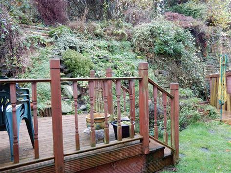 steep slope garden designs garden designer staffordshire