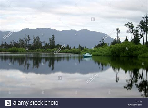 Lake Brunner New Zealand Stock Photos And Lake Brunner New