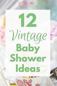 Vintage Baby Shower Ideas For Baby Girls, Boys Or Gender
