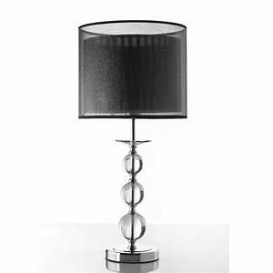 Lampe A Poser Design : lampe a poser design avec abat jour noir bulle zd1 lamp p ~ Preciouscoupons.com Idées de Décoration