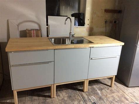 Kitchen Edinburgh Gumtree by Ikea Method Veddinge Grey Kitchen In Corstorphine