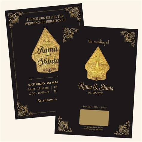 Classic Gold Black Wedding Card Wedding cards Gold