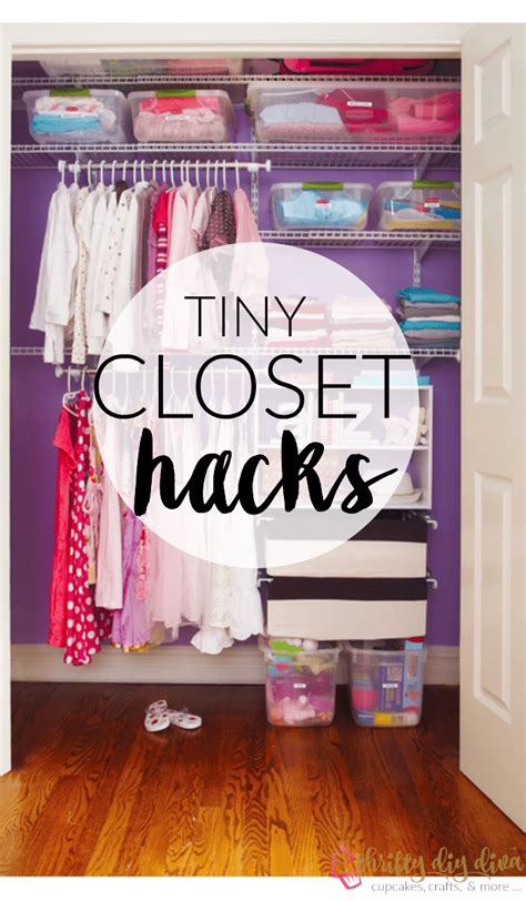 How To Organize Tiny Closet by Brilliant Lifehacks To Organize Your Tiny Closet