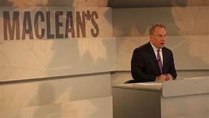 PAUL WELLS MEDIATES THE MACLEAN'S LEADERS DEBATE. (DILLAN ...