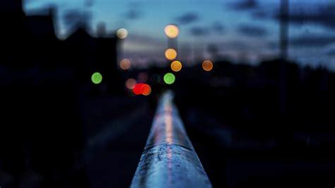 wallpaper railing   hd wallpaper night bokeh