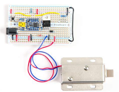 Using 5v Arduino With 12v Solenoid Lock