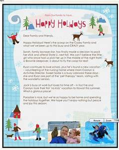 how to create an electronic christmas letter with smilebox With family christmas letter