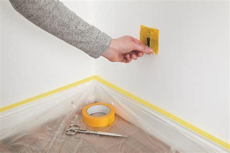 Wand Gleichmäßig Streichen by Streichen Abkleben Tipps W Nde Streichen 5 Tipps F R