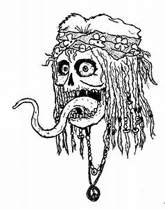 Cool Easy Hippie Drawings Sketch Coloring Page