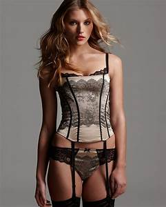 Chantelle Paris Paris Corset and Tanga Bloomingdale's