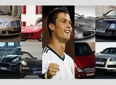 Os 10 carros mais caros e luxuosos do Cristiano Ronaldo