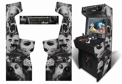 Horror Graphics Xtension Arcade Permanent Submitted Customer