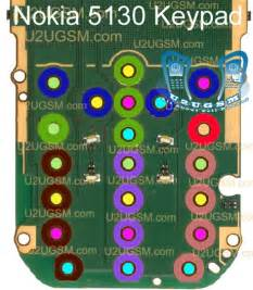 Nokia 5130 Keypad Not Working Problem Solution Jumpers