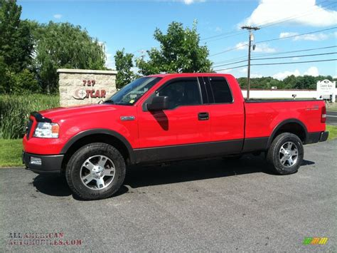 2004 Ford F150 FX4 SuperCab 4x4 in Bright Red   C23072