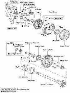 repair guides rear axle axle shaft bearing seal With 2004 toyota tacoma front wheel bearing diagram