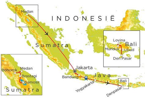 vakantie indonesie sumatra java bali  dagen