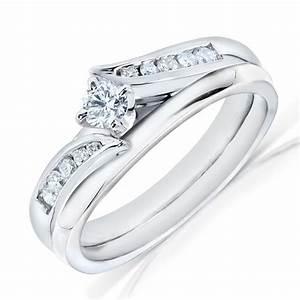 fascinating wedding ring set half carat round cut diamond With wedding ring sets on sale