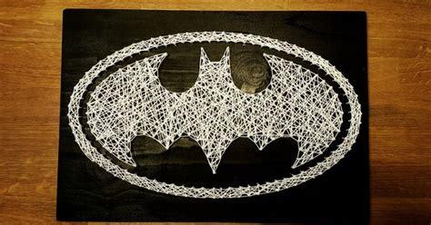 diy batman string art diy pinterest discover