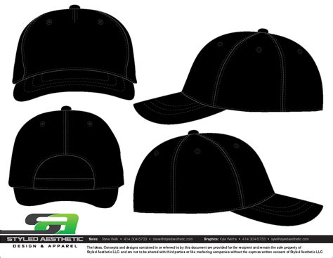 baseball cap template templates styled aesthetic