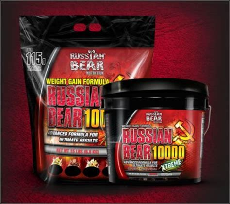 Russian Bear 10000 Weight Gainer Review | hubpages