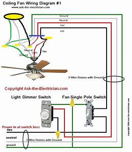 Wiring Ceiling Light Fixture Diagram