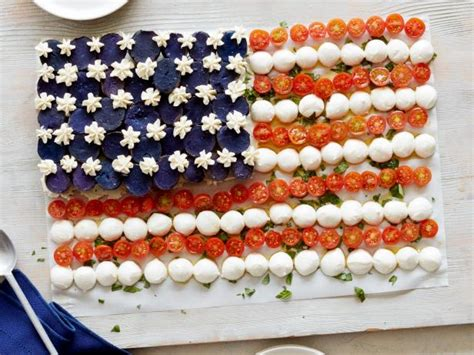 American Flag Caprese Salad Recipe | Food Network Kitchen ...