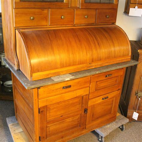 bargain johns antiques bakers kitchen cabinet cylinder