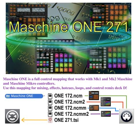 Traktor Maschine Mikro Templates by Traktor Bible Maschine One 271 Full Control Fx Remix