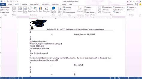 office  class  word  letterhead save