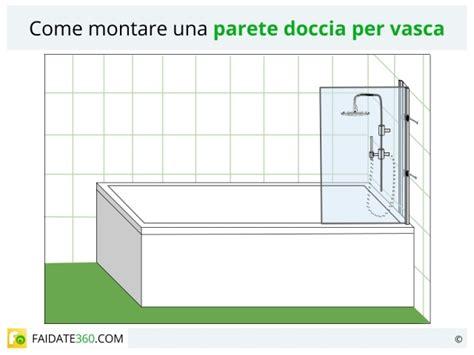 pareti doccia per vasca parete doccia per vasca tipologie materiali costi e