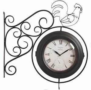 Horloge Murale Moderne : horloge murale ossature 70cm ~ Teatrodelosmanantiales.com Idées de Décoration