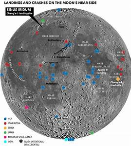Map of Moon Landings (page 3) - Pics about space