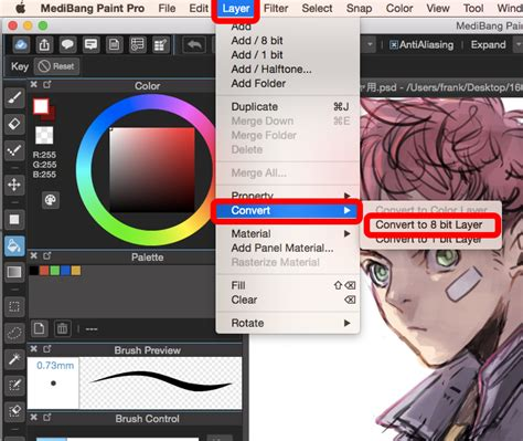 Coloring With Medibang by How To Convert Layers To Halftone In Medibang Paint Pro