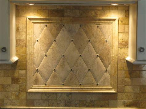 Honed Travertine Tile Backsplash : Backsplash- Hand Honed Travertine