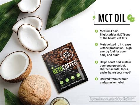 The keto coffee includes a proprietary blend of ingredients that promote thermogenesis, which includes green coffee bean and mct powder. GO NUTS for coconuts ! We LOVE that our It Works! Keto Coffee has all of the amazing benefits of ...