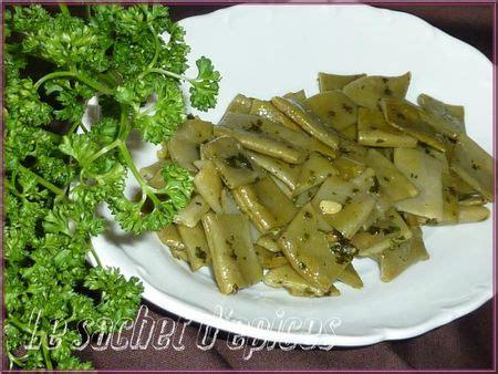 cuisiner les haricots mange tout haricots plats au beurre et au persil le sachet d 39 épices