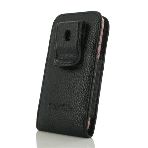 iphone 5s cases with clip iphone 5 5s pouch with belt clip black stitching