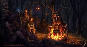 Campfire by Temarinde on DeviantArt