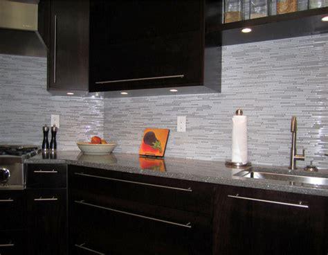 modern backsplash tile espresso kitchen with glass and marble mosaic tile