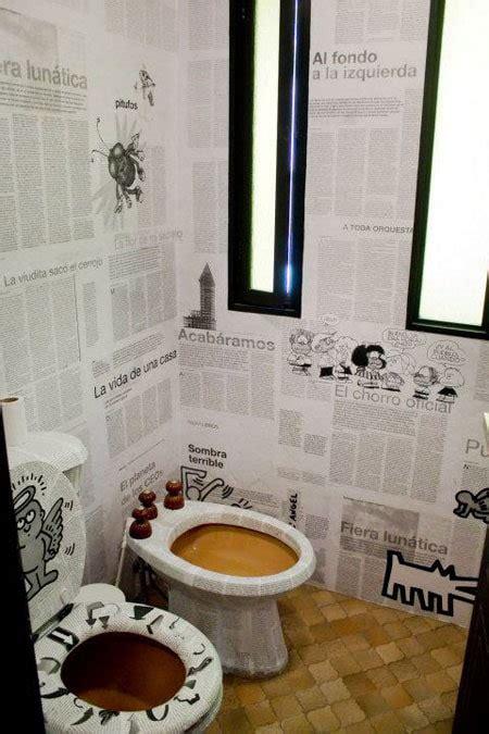 deco de wc originale wc carnet d 233 co